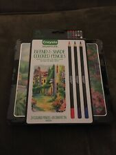 Crayola Signature Blend & Shade Colored Pencils, Professional Coloring Kit, Gift
