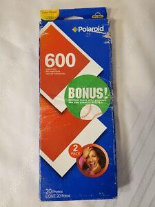 Polaroid Camera 600 film 20 pack.