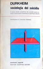 ÉMILE DURKHEIM SOCIOLOGIA DEL SUICIDIO NEWTON COMPTON 1974
