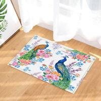 Octopus Fish /& Sea Turtle Kids Cartoon Non Slip Shower Rug Carpet Bath Door Mat