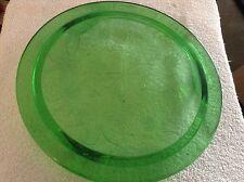 Green glass Trivet / Serving tray