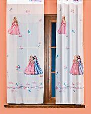 Rideau , Paire des voilages,  Barbie - Princesse , larg. 2x60cm, H. au choix