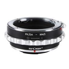 K&F Concept Lens Adapter for Pentax PK/DA Lens to Micro 4/3 Mount GH4 OM-D Mount