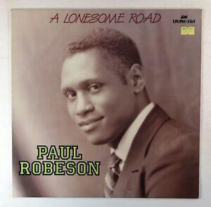 Paul Robeson - A Lonesome Road (UK Vinyl LP) Near Mint Vinyl