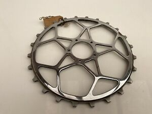 """NOS Vintage 1950s Williams 24T inch pitch/skip tooth 3/16"""" C34 chainring #4096"""