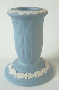 Wedgwood Blue Jasperware Candle Holder