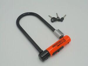 Kryptonite Evolution STD Lock + Flexframe Bracket - 8/10 Sold Secure Gold