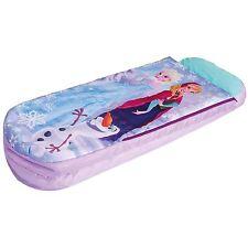 Bed Disney Frozen Airbed Sleeping Bag Kids Children Nap Camping 2in1 Bedroom