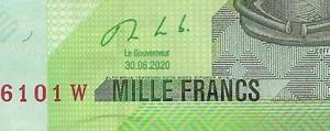 Congo Nieuw 1000 francs 2020 !! UNC P101 c  NIEUW 2020 !!!!! nieuw 2020 !!! UNC