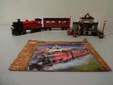(TB)LEGO 4708 HARRY POTTER HOGWARTS EXPRESS MIT BA 100% KOMPLETT MIT 9VOLT MOTOR