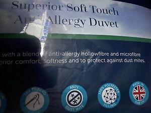 CHRISTY Soft Touch Anti Allergy Duvet, King Size