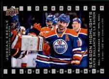 2015-16 Upper Deck Tim Hortons Season Highlights Jordan Eberle #SH-2