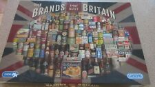 Gibson The Brands That Built Britain Jigsaw Puzzle (G7073) - 1000 Pieces
