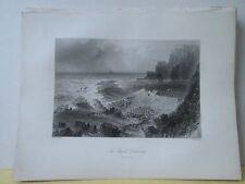 Vintage Print,GIANTS CAUSEWAY,Scenery of Ireland,Bartlett