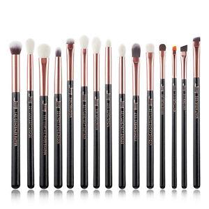 Jessup 15Pcs Makeup Brushes Set Blending Eyeshadow Detail Crease Concealer Tool