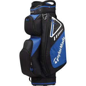 NEW TaylorMade Select Cart Bag - Black/Blue - Drummond Golf