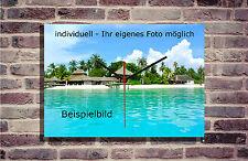 Wanduhr personalisiert eigenes Foto individuell Eigenmotiv Geschenkidee Bild