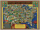 1926+Pictorial+Map+11%22x15%22+NAR+National+Association+of+Real+Estate+Boards+Poster