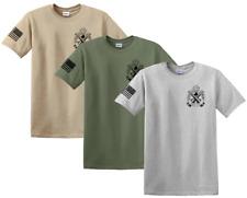 New Springfield Armory logo t-shirt w/ American flag XDm Saint M1A 1911 Firearms