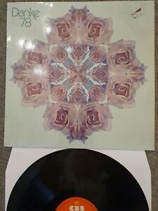 Danke 78 Nina Hagen Paola Santana Boston u.a. Sampler Vinyl Limitiert CBS