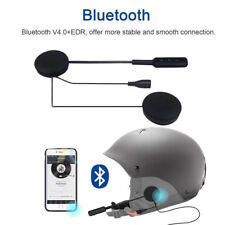 MICROFONO AURICOLARI BLUETOOTH PER CASCO MOTO SCOOTER CHIAMATE MP3 INTERFONO