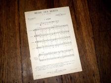 Avent + Alma Redemptoris + Noël de M.-A. Charpentier voix mixtes orgue