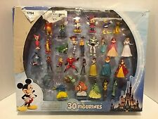 Disney set of 30 Figurines Mickey Toy Story Ariel Winnie the Pooh Finding Nemo