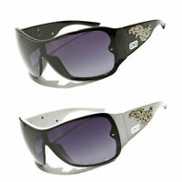 New Womens Dg Sunglasses Rhinestone Designer Fashion Eyewear Black Large Shades