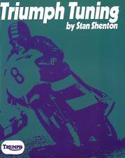 Triumph Tuning Stan Shenton Triumph 500 650 Bonneville Tiger 100 Trident