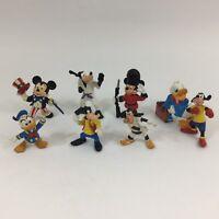 Vintage 1988 Bullyland Disney Figures Mickey Mouse Donald Duck Goofy Bundle Cake