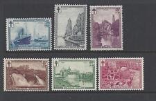 Belgium - B93 - B98 - Mh - 1929 - Scenes In Belgium