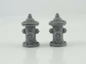 NEW Diorama Parts Fire Cranes in Scale 1:24 Unpainted Plastic Brand New