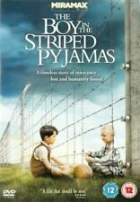 THE BOY IN THE STRIPED PYJAMAS DVD REGION 2 BRAND NEW & SEALED FREE P&P