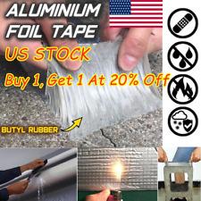 Super Strong Waterproof Tape Butyl Seal Aluminum Foil Magic Repair Adhesive 2020