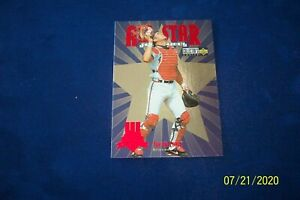 1997 COLLECTOR CHOICE BRAVES JAVIER LOPEZ ALL-STAR # 44 OF 45