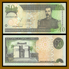 Dominican Republic 10 Pesos Oro, 2003 P-168c Uncirculated Unc