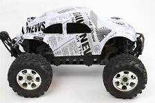 Custom Buggy Body Newspaper for HPI Savage Flux HP 1/8 VW Baja Beetle Shell