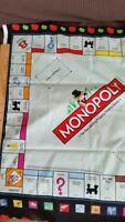 Monopoly Vintage Fabric VERY HTF 2009 Hasbro Quilting Treasures PANEL
