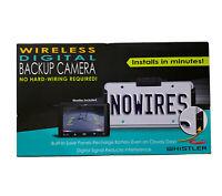 Whistler Wireless Digital Backup Camera WBU-900WNP - Brand New
