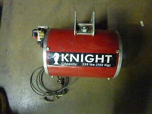 Knight Air Balancer KBA225-055 225LB Capacity at 100 PSI with steel cable (12675