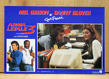ARMA LETALE 3 fotobusta poster Lethal Weapon 3 Donner Gibson Glover Pesci AB47