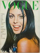 IRVING PENN Balenciaga DAVID BAILEY Daliah Lavi VOGUE Magazine October 1964 vtg
