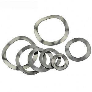 Qty 10 - A2 Stainless Steel Wave/Wavey/Crinkle Washers Spring Washers M12*18*0.3