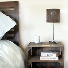 SMALL RUSTIC WOODEN TABLE with shelves - UK Handmade from reclaimed wood.