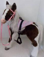 S'MORES BUTTERSCOTCH HORSE SADDLE BRIDLE  SET  SPARKLE BLING PIN