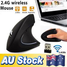 Anker 2.4G Wireless Vertical Ergonomic 800/1200/1600DPI Optical Mouse for PC Mac