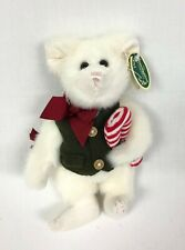 "Bearington Holiday Plush Mouse with Candy Cane ""Dickory"" #1479"