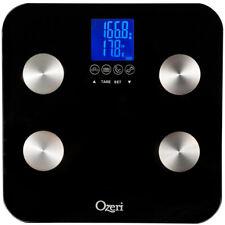 Total Body Bath Scale 40 lb 3 Touch-Sensitive Button Auto-Recognition Technology