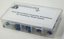Axial Electrolytic Capacitor Assortment for Transistor Radios: Save Time & Money