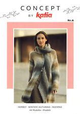 Katia Concept Heft Nr. 6 Herbst Winter 2018 Damen Strickenanleitungen